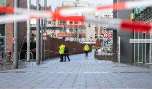 Alemania: sujeto atropella a varias personas en celebración de Año Nuevo