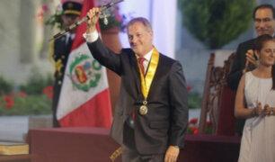 Jorge Muñoz juramenta como alcalde de Lima Metropolitana en Parque de la Reserva