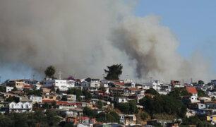 Chile: Valparaíso y otras regiones vienen siendo afectadas por incendios forestales