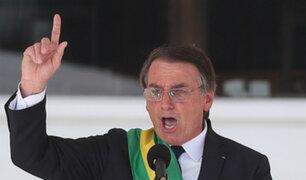 Brasil: a un día de asumir la presidencia Jair Bolsonaro aumentó el salario mínimo