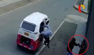 Huaycán: cámaras captan robo a una mujer embarazada de 5 meses