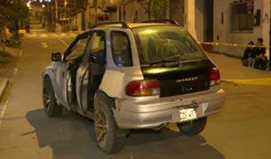 Manchay: hombre es asesinado a balazos en su auto