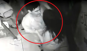 VMT: sujeto desfigura a su enamorada con una copa de vidrio en una discoteca