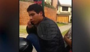 La Molina: joven se resiste a entregar documentos y denigra a policía