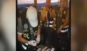 Tarapoto: detienen a policías y abogada por recibir presunta coima de extranjero