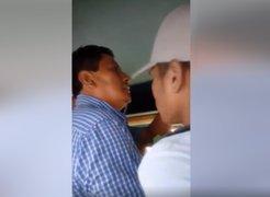Piura: pasajeros detienen a sujeto acusado de realizar tocamientos a una menor