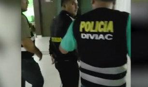 Chimbote: detienen a policías involucrados en banda criminal