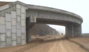 Costa Verde Callao: obras continúan paralizadas