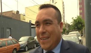 Alcalde de Comas se pronunció tras disparos en ceremonia de su juramentación