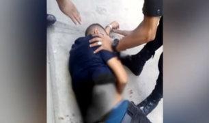 Surco: un muerto y un herido deja balacera en plena calle