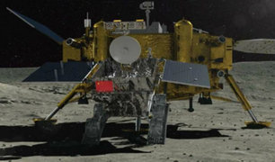 Sonda china logró el primer alunizaje en la cara oculta de la luna