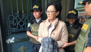 PJ revocó orden de prisión preventiva de 36 meses contra Ana Herz