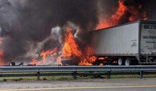 EEUU: cinco niños que iban a Disney mueren en accidente de carretera