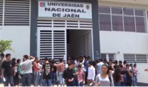 Cajamarca: desalojan a autoridades de la Universidad de Jaén por presunta corrupción