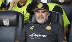 Argentina: Diego Armando Maradona fue internado de emergencia