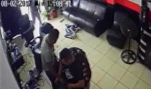 Chorrillos: barbería fue asaltada dos veces en una sola semana