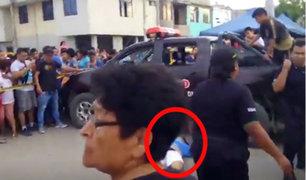 La Libertad: moto de sicarios se malogra cuando intentaban huir