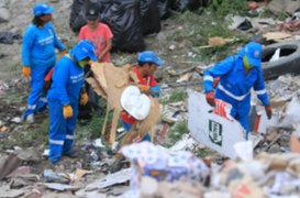 SMP: recogen toneladas de basura de la ribera del río Rímac