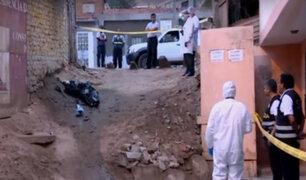 Los Olivos: hallan cadáver quemado en una bolsa plástica