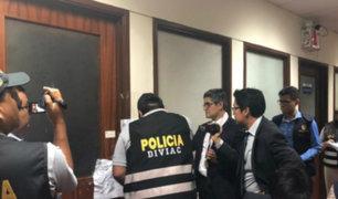 Pedro Chávarry: suspenden allanamiento a oficina de su asesor