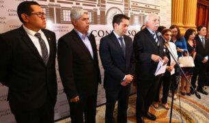Fuerza Popular informó que no participará en Junta de Portavoces programada para hoy