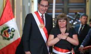 Zulema Tomás Gonzales juramentó como nueva ministra de Salud