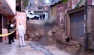 Los Olivos: identifican cadáver quemado de hombre hallado en bolsa plástica