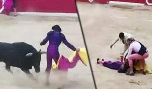 Cajamarca: torero termina inconsciente tras ser embestido por toro