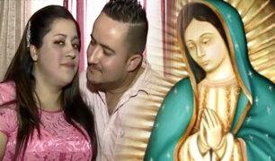 Mujer asegura que está embarazada de trillizos por milagro de la virgen