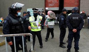 México: desalojan a inmigrantes de refugio clandestino