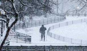 Alemania: cerca de 120 vuelos fueron cancelados por tormenta invernal