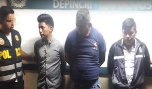 """San Martín de Porres: capturan a miembros de peligrosa banda """"Los Injertos de Dominicos"""""""
