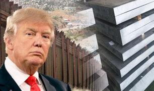 Donald Trump propone que el muro con México sea de acero