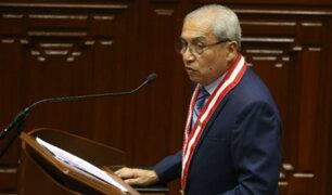 Pedro Chávarry aseguró haber renunciado por injerencia del Ejecutivo