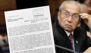 Pedro Chávarry oficializa su renuncia ante Junta de Fiscales Supremos