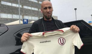 Guillermo Rodríguez: llegó a Lima nuevo refuerzo de Universitario