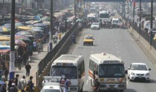 Los planes de desvío para la construcción de la Línea 2 del Metro de Lima generan gran caos vehicular