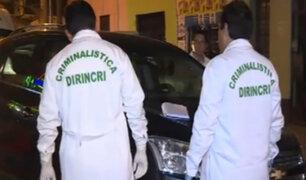 Lince: policía disparó contra chofer que presuntamente hacía taxi colectivo