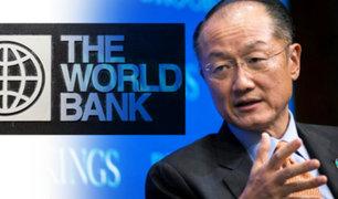 El presidente del Banco Mundial anuncia su dimisión
