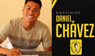 Daniel Chávez se convirtió en el nuevo refuerzo de la Academia Cantolao