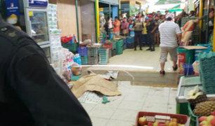 Callao: identifican a sujeto que asesinó a mujer al interior de mercado
