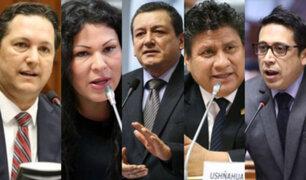 Daniel Salaverry y otros cuatro congresistas se retiraron de Fuerza Popular