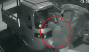VES: roban moto de carga y vecinos salen en reclamo por inseguridad