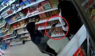 SMP: atrapan a banda delincuencial cuando intentó asaltar minimarket