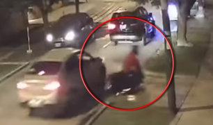 Surco: Cámaras de seguridad captaron violento accidente de moto
