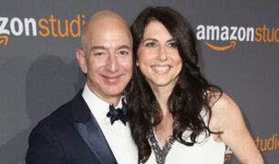 Jeff Bezos: el hombre más rico del mundo anuncia su divorcio