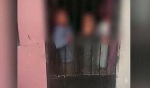Bellavista: rescatan a 3 menores que estuvieron encerrados solos por varios días en su vivienda