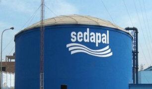 Sedapal no habría llegado a la meta de inversiones establecidas para el 2018