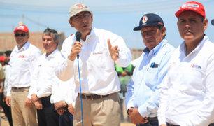 Presidente Vizcarra: Dotar de agua a la población es prioridad del gobierno