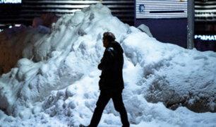 Empeora el temporal de nieve en Europa central